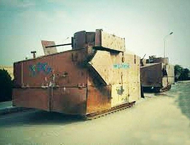 Kurdish Build Mad Max Road Warrior Tanks